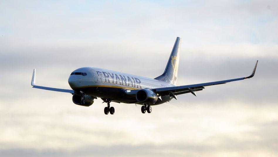 Boeing 737 von Ryanair