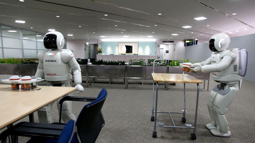 Altenpflege in Japan: Rentnerroboter im Einsatz
