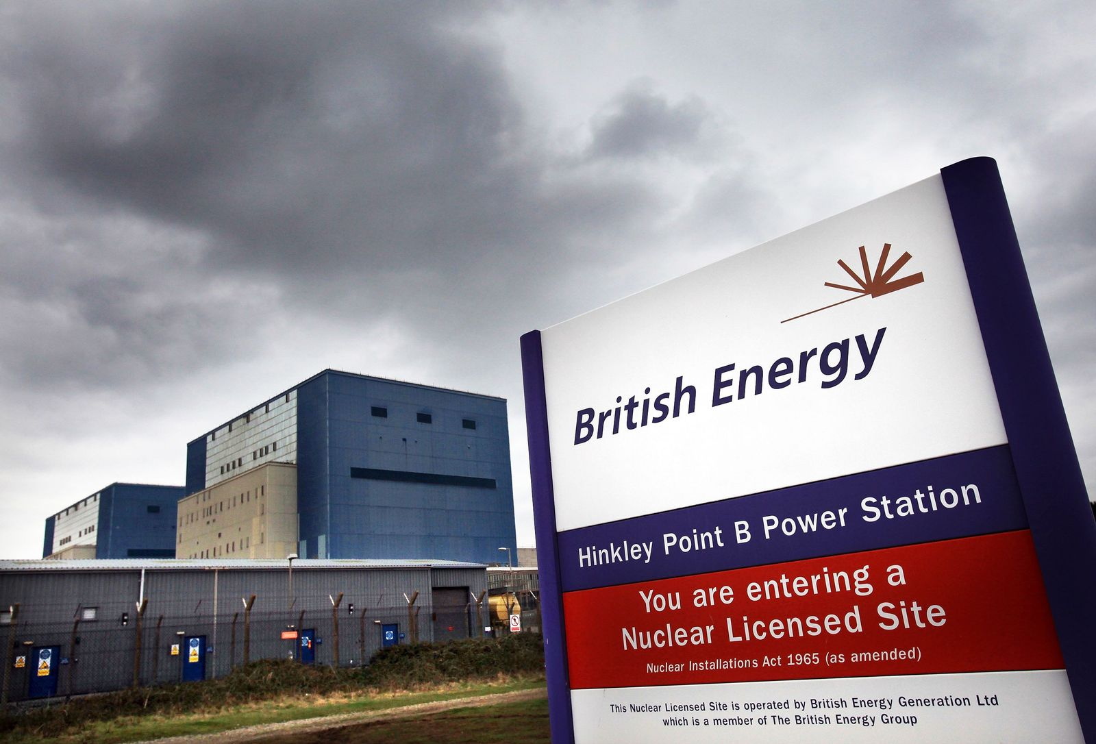 Atomkraftwerk Hinkley Point / England