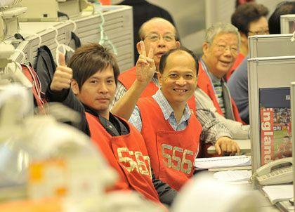 Freude in Hongkong: Für den Leitindex ging es aufwärts
