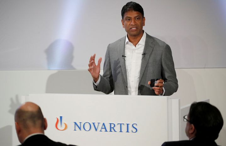 Novartis-CEO Vas Narasimhan baut den Schweizer Konzern um
