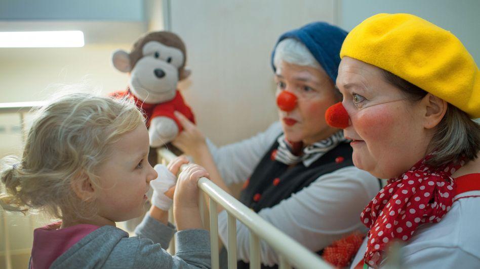 Unterhaltung und Ablenkung für Kinder in einer Klinik des Betreibers Helios