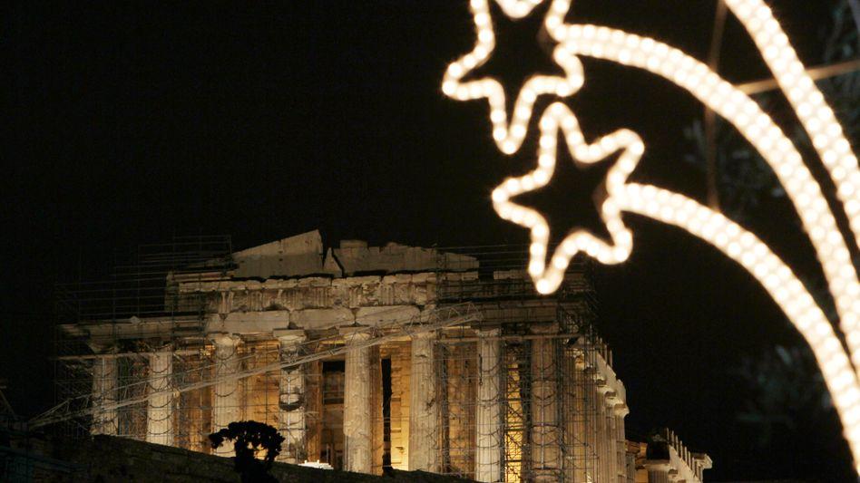 """Winterliche Akropolis: """"Fortschritte beim Eintreiben von Steuern unter den Erwartungen"""""""