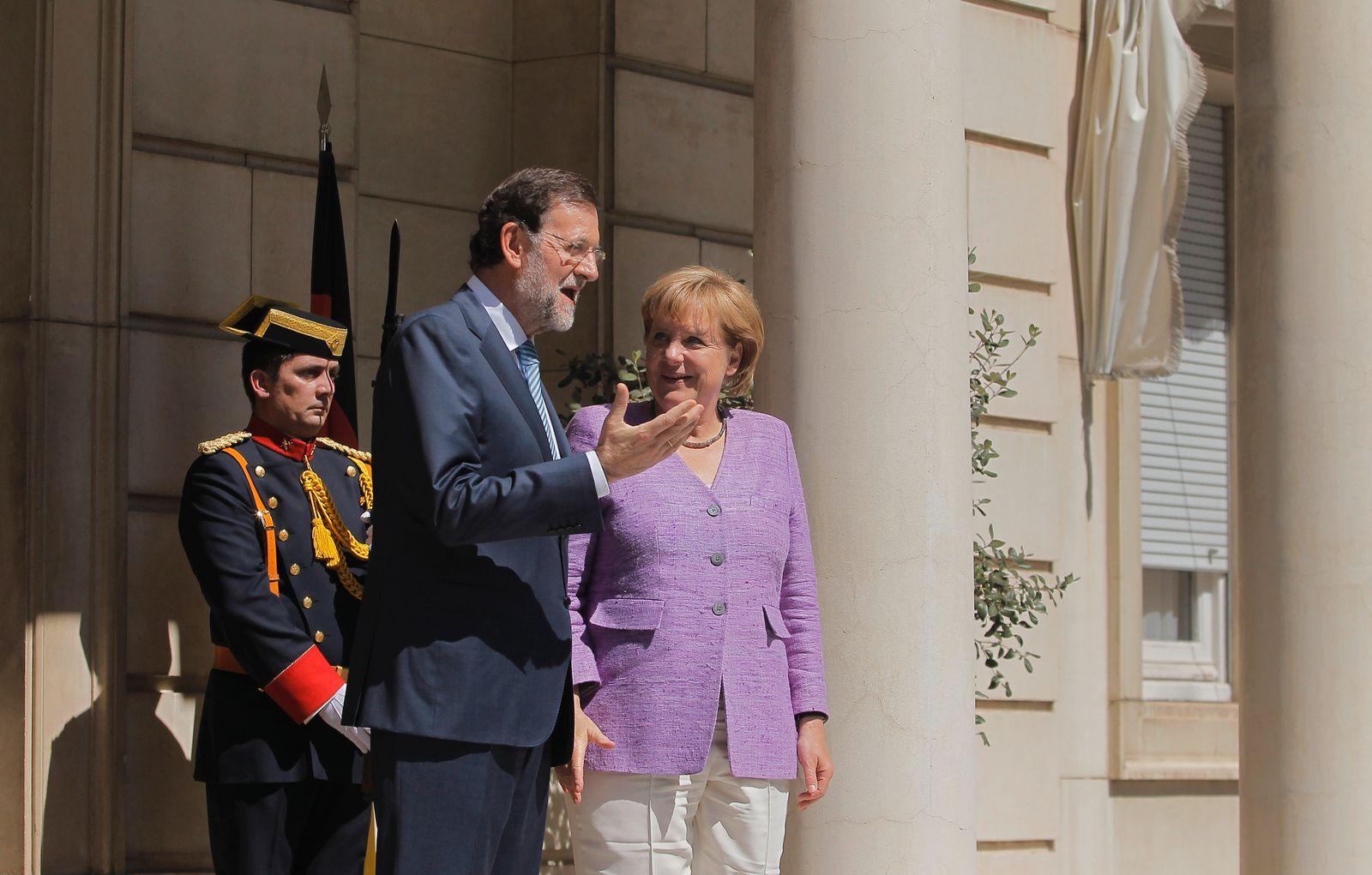 Angela Merkel / Mariano Rajoy / Madrid