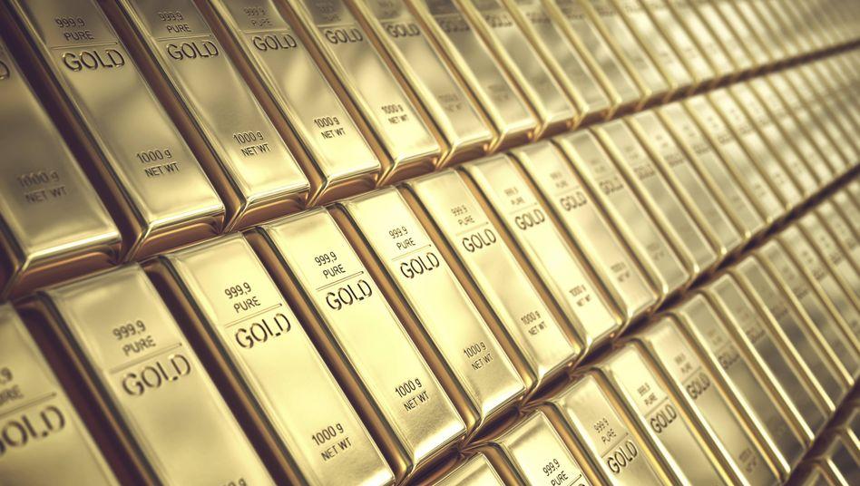 Schwer gefragt: Der Goldpreis steigt auf ein Allzeithoch