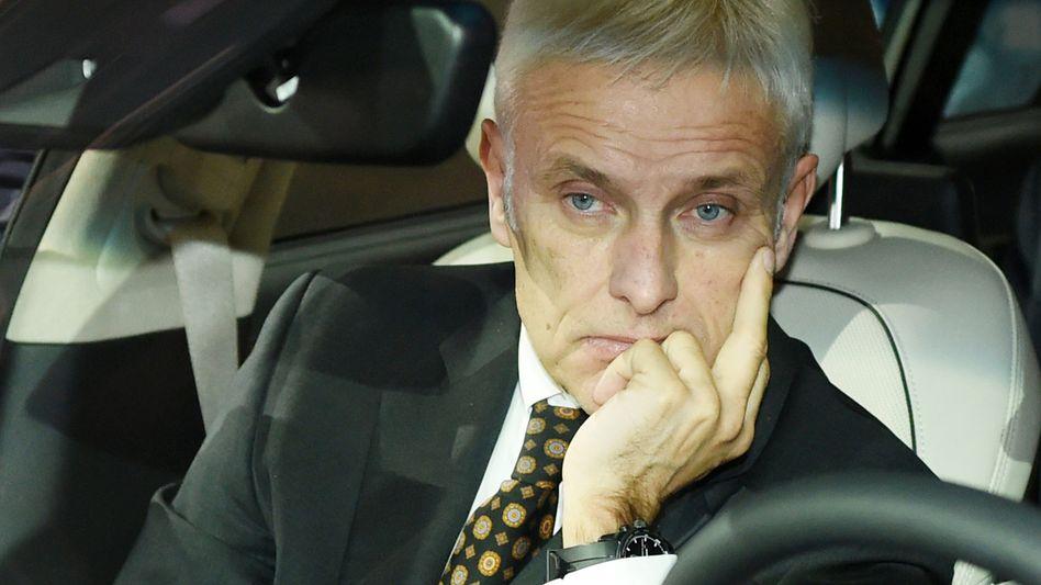 VW-Chef Matthias Müller: Europäische Kunden verlangen Schadenersatz