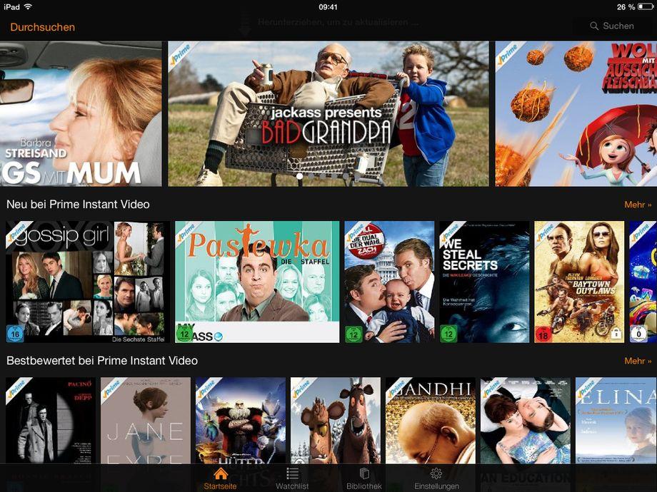 Netflix Filmübersicht