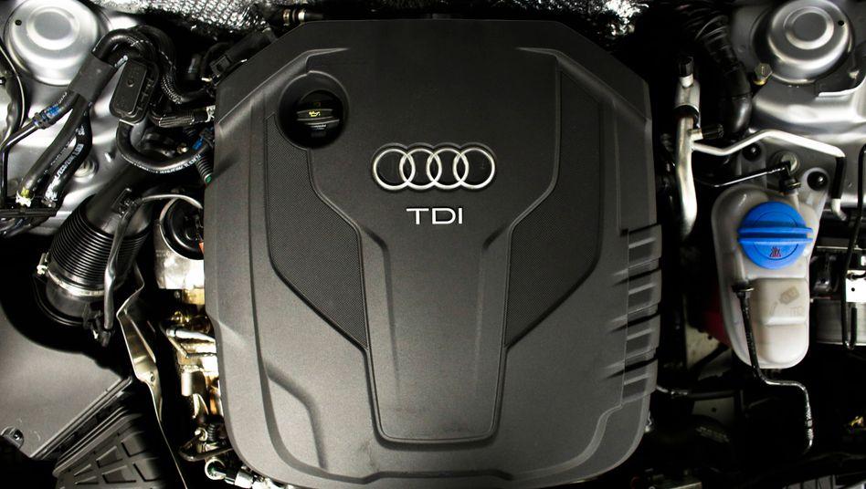 Dieselmotor von Audi
