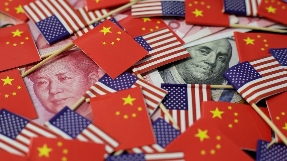 USA gegen China: Peking macht Druck - und schob den Yuan unter die Schwelle von sieben Yuan pro Dollar