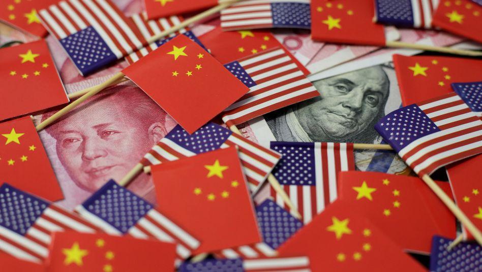 Das Hin und Her im Handelsstreit zwischen China und den USA hatte 2019 oft das Geschehen an den Weltbörsen bestimmt