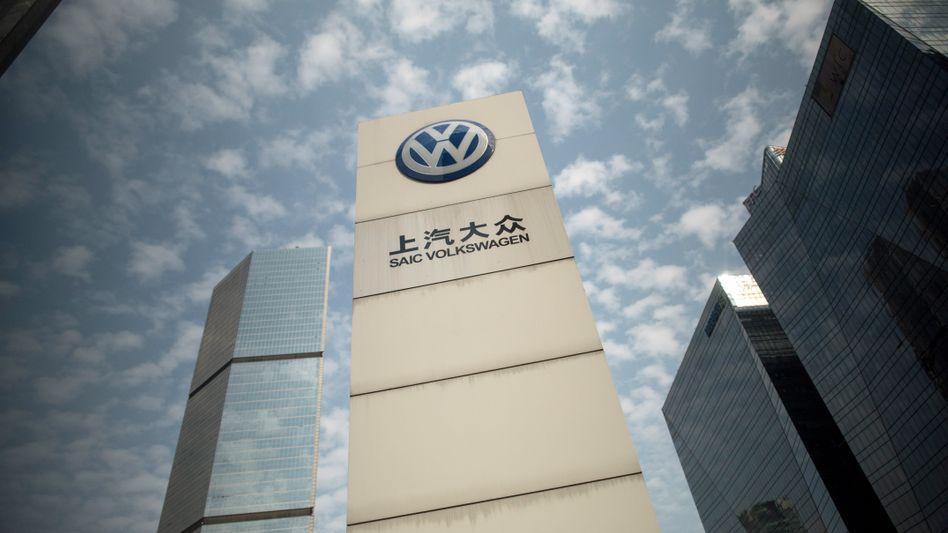 In China verkauft Volkswagen mehr als die Hälfte seiner Autos der Kernmarke VW.
