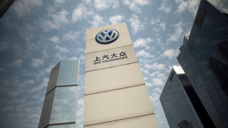 VW hat als einer der wenigen Massenhersteller im vergangenen Jahr seine Verkäufe im Reich der Mitte steigern können.