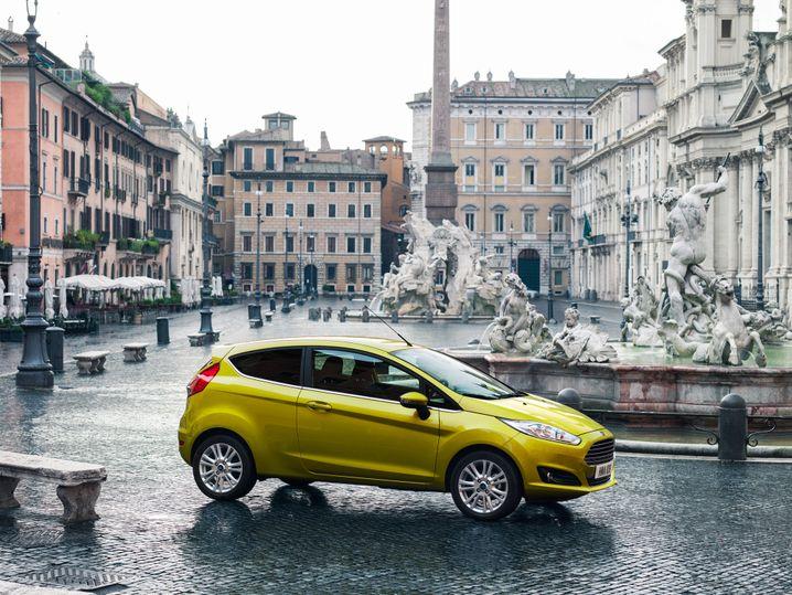 Ford Fiesta: Der Kleinwagen mit Kölner Genen arbeitet sich zuletzt in der Zulassungsstatistik bedächtig nach oben - diesmal gibt es jedoch einen kräftigen Dämpfer