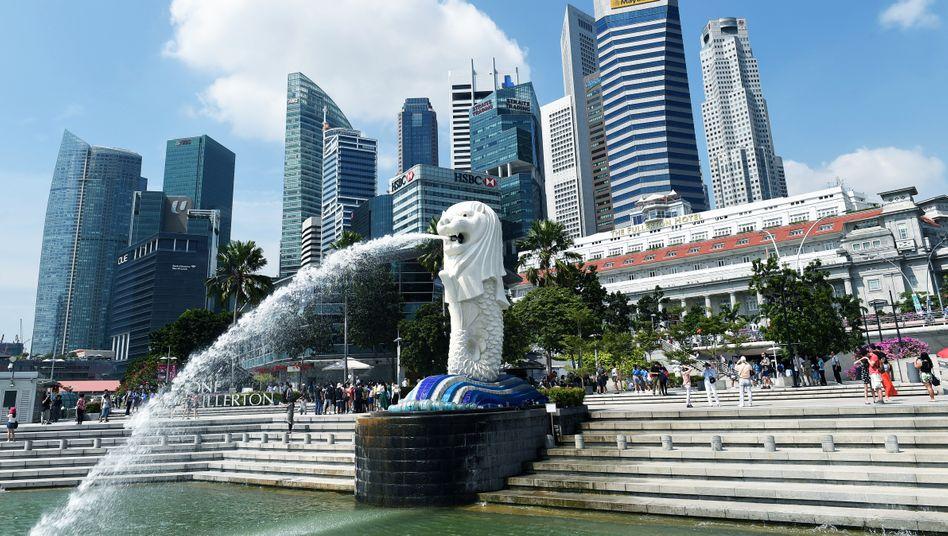 Finanzdistrikt von Singapur