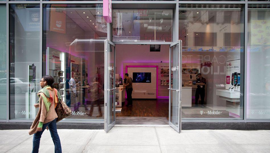 T-Mobile Shop in New York: Die Telekom-Tochter will sich für Milliarden aufhübschen