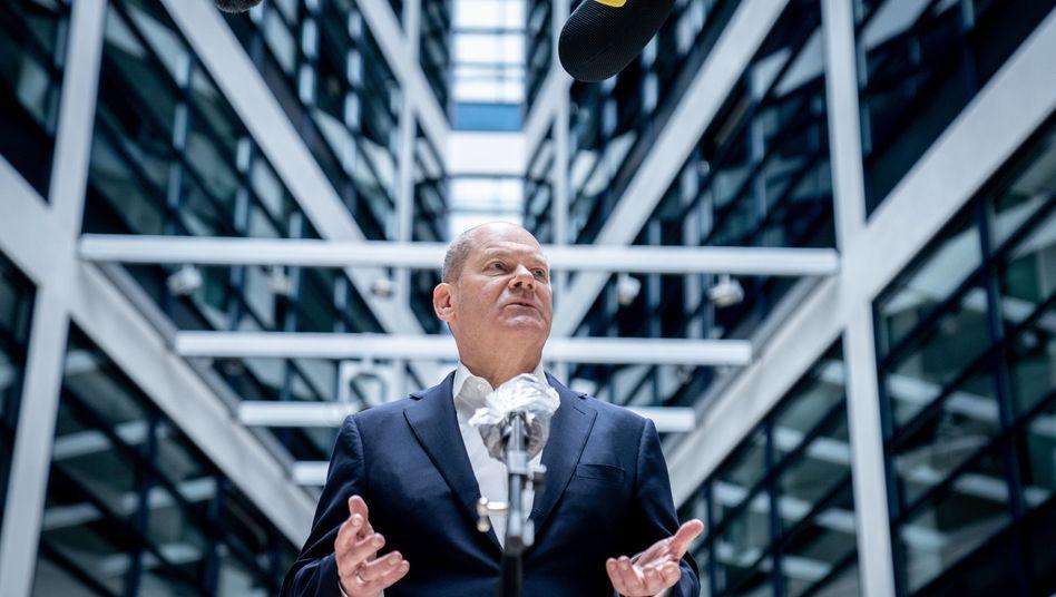 """""""Strukturen durchleuchten, mögliche Fehler sofort abstellen"""": Bundesfinanzminister Olaf Scholz (SPD) will die Finanzmarktaufsicht reformieren"""
