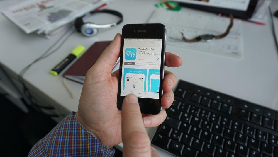 Wundercar-App: Der Autobauer BMW beteiligt sich an dem Hamburger Start-up
