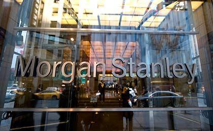 Dritter Verlust in Folge: Morgan Stanley