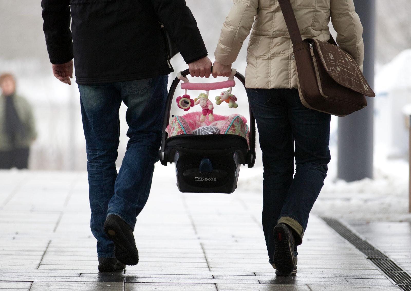 Eltern mit Kind