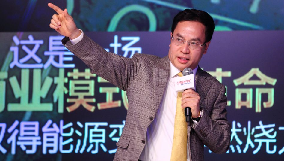 Keine Zeit für die Aktionäre: Hanergy-Chef Li Hejun gerät in Erklärungsnot