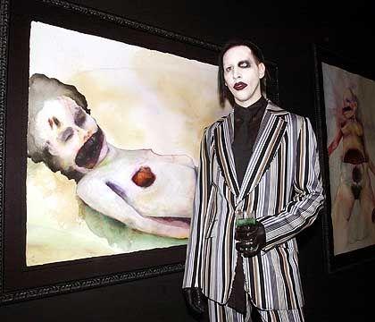 Marilyn Manson: Von T-Mobile verstümmelter Musik-Metzger