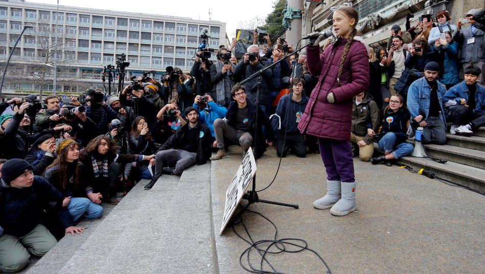 Echte Diskursverschiebung: Greta Thunberg hat die Klimafrage auf die Agenda gesetzt.