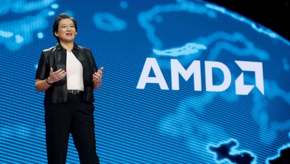 Im Angriffsmodus: AMD-Chefin Lisa Su.