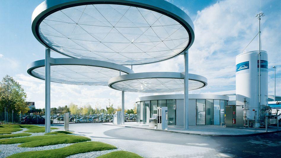 Wasserstoffzentrum von Linde: Der Antrieb mit Brennstoffzellen zählt zu den fünf großen Forschungsprojekten