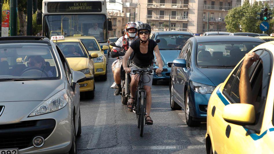 Alternative: Dienstfahrräder haben den Exoten-Status verloren. Viele Mitarbeiter zielen auf klimafreundlichere Mobilität