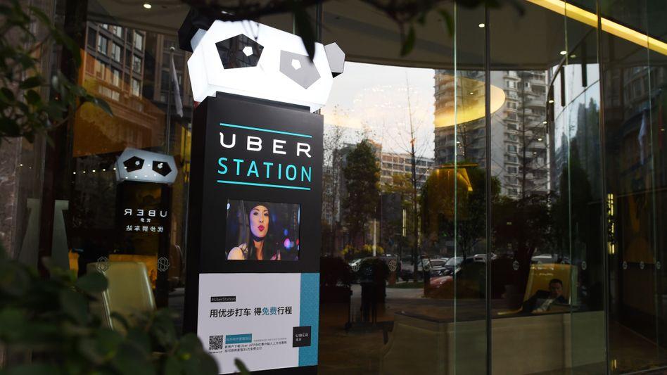 Ubermacht: In China ist Uber seit der Fusion mit dem Rivalen Didi Chuxing marktbeherrschend. Die deutsche Industrie muss beim Thema Carsharing und Mobilitätsdienste Tempo machen, um den Anschluss nicht zu verpassen