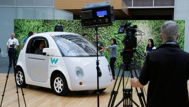 Neue Selbstfahr-Tochter: Wie Google mit Waymo durchstarten will