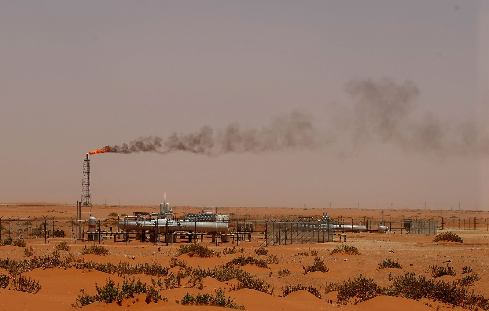 Saudi Arabien Öl Anlage Aramco
