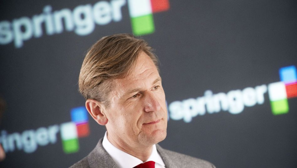 Offerte von bis zu 70 Millionen Dollar: Springer-Vorstandschef Mathias Döpfner