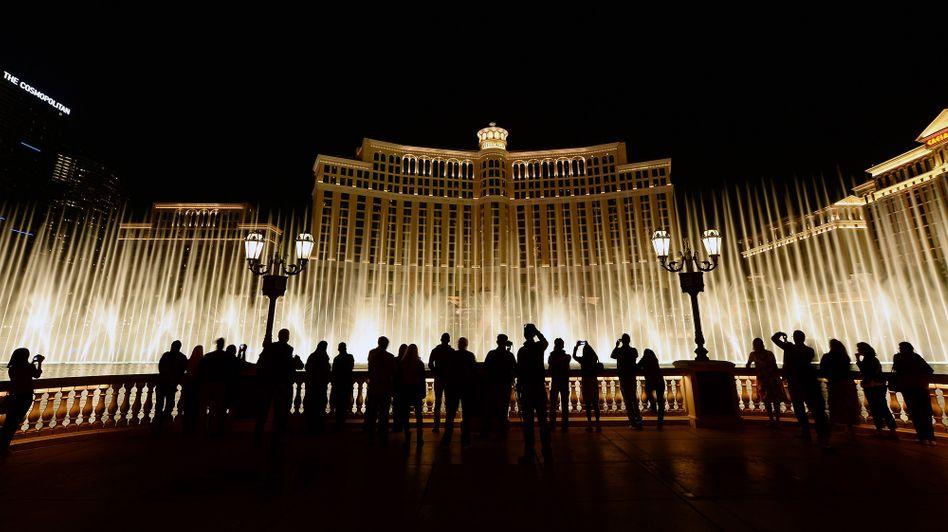 Wasserspiele vor dem Hotel Bellagio, Las Vegas