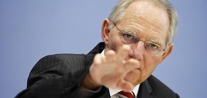 """Designierter Finanzminister Schäuble: """"Wir fahren weiter auf Sicht"""""""