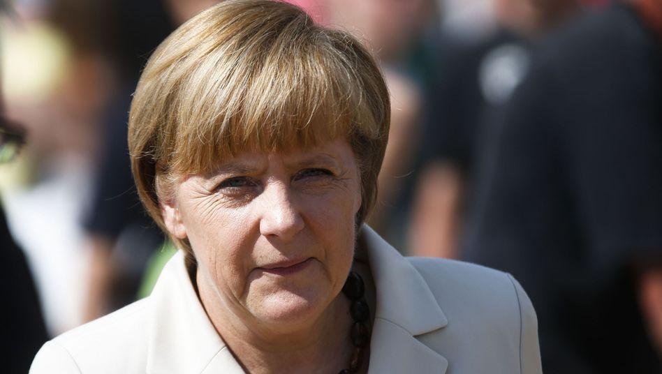 Bundeskanzlerin Angela Merkel: Kleineres Budget für die EU bis zum Jahr 2020 mit durchgesetzt