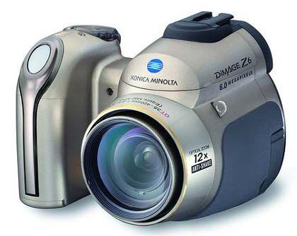 Fast wie eine Spiegelrefelxkamera: Konica Minolta Dimage Z6