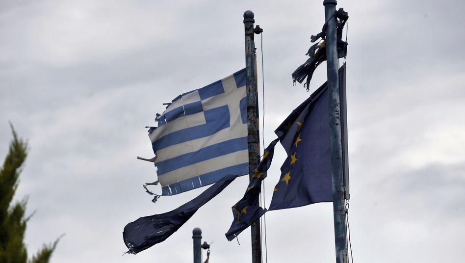 Arg mitgenommen: Das Verhältnis zwischen Griechenland und seinen europäischen Geldgebern ist derzeit nicht das beste. An der Börse bleiben die Anleger vorsichtig, sie trauen den griechischen Reformbemühungen nicht allzu viel zu