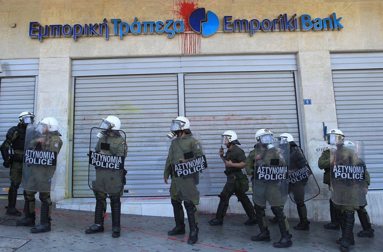 Griechenland Bank