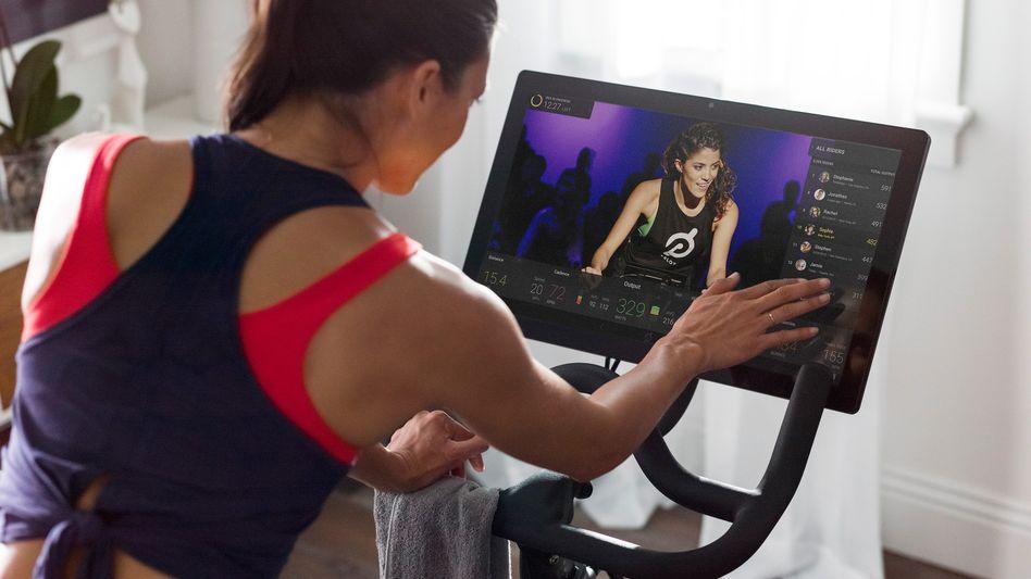 Fitnessgerät von Peloton: Die Geräte gibt es noch nicht auf dem deutschen Markt zu kaufen
