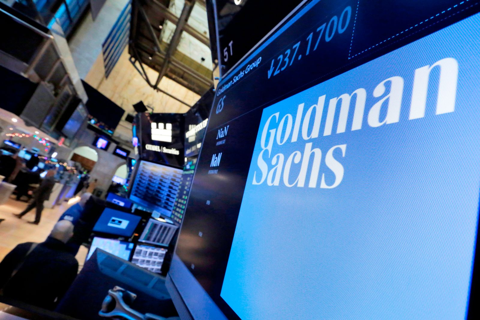 Goldman Sachs-Results