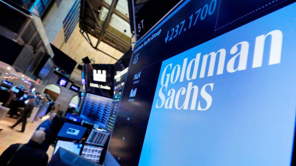 Immer her mit dem Geld: Wenn Anleger schnelle Gewinne an der Börse suchen, hat Goldman Sachs sein Geschäft längst gemacht