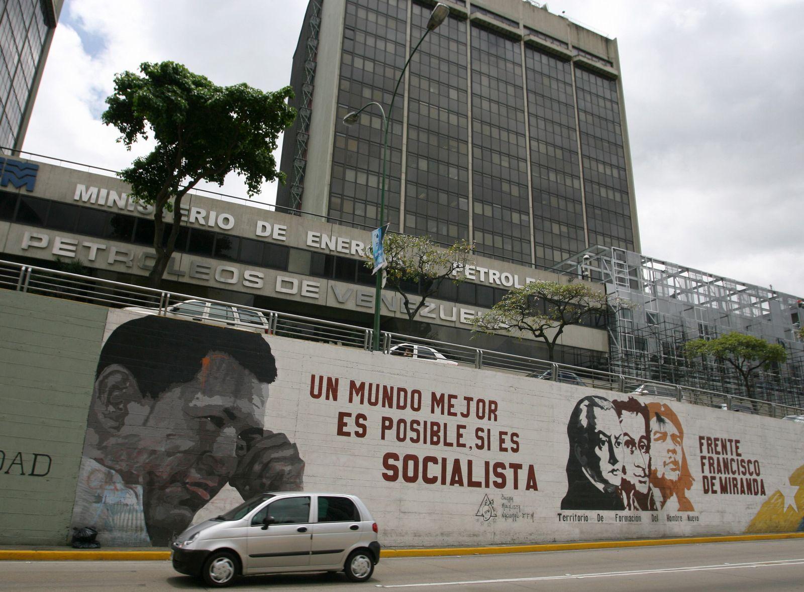 Caracas Öl Ministerium Venezuela