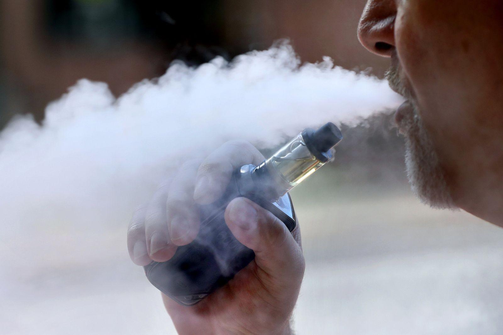 E-Zigarette Dritter Toter