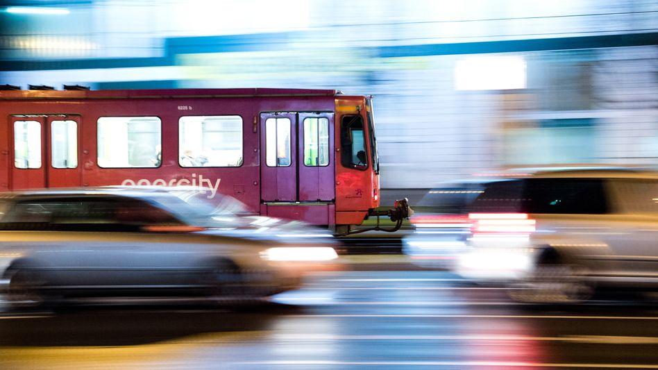 Stadtbahn in Hannover