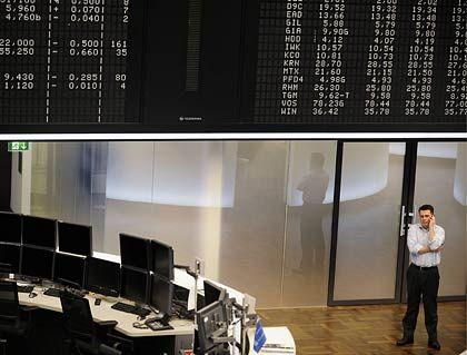 Ruhiger Handel, leichte Verluste: Anleger gönnten sich am Freitag eine Verschnaufspause