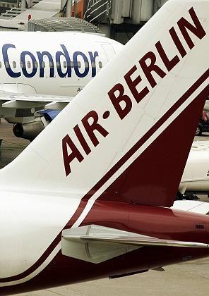 Fluggesellschaften Air Berlin und Condor: Zusammen mit Tuifly bahnt sich ein Dreierbündnis an