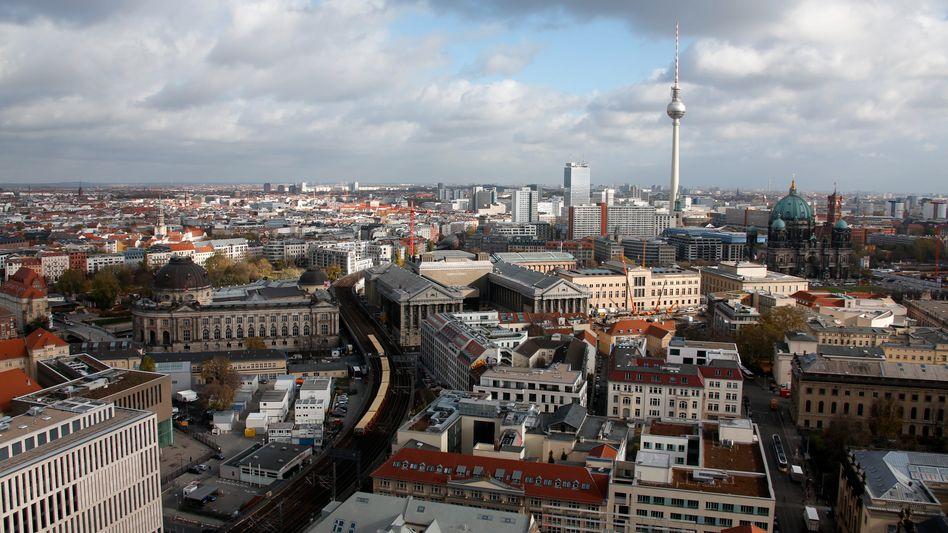 Blick auf Berlin: Mindestens zwei der insolventen Medico-Fonds investierten in Objekte in der Bundeshauptstadt