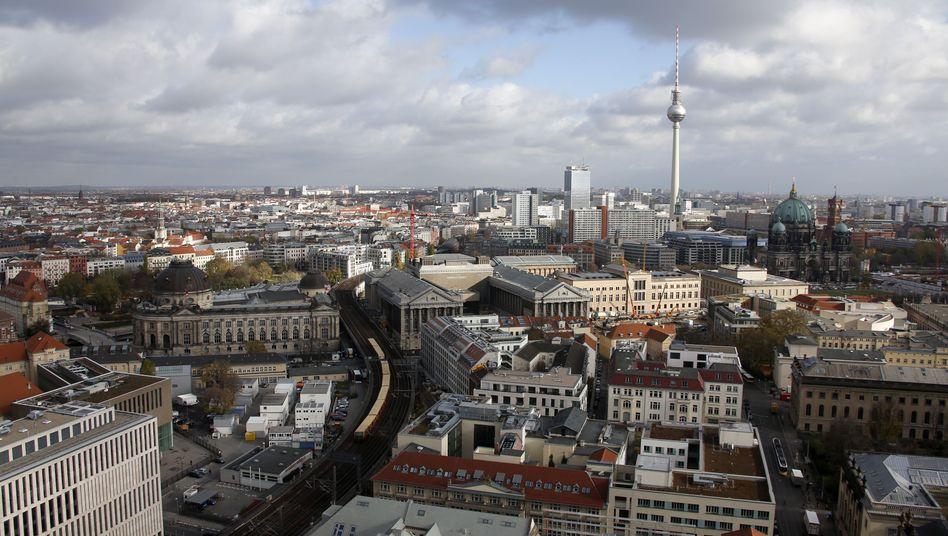 Blick auf Berlin: Der größte Teil der Immobilieninvestments fließt in die Metropolen