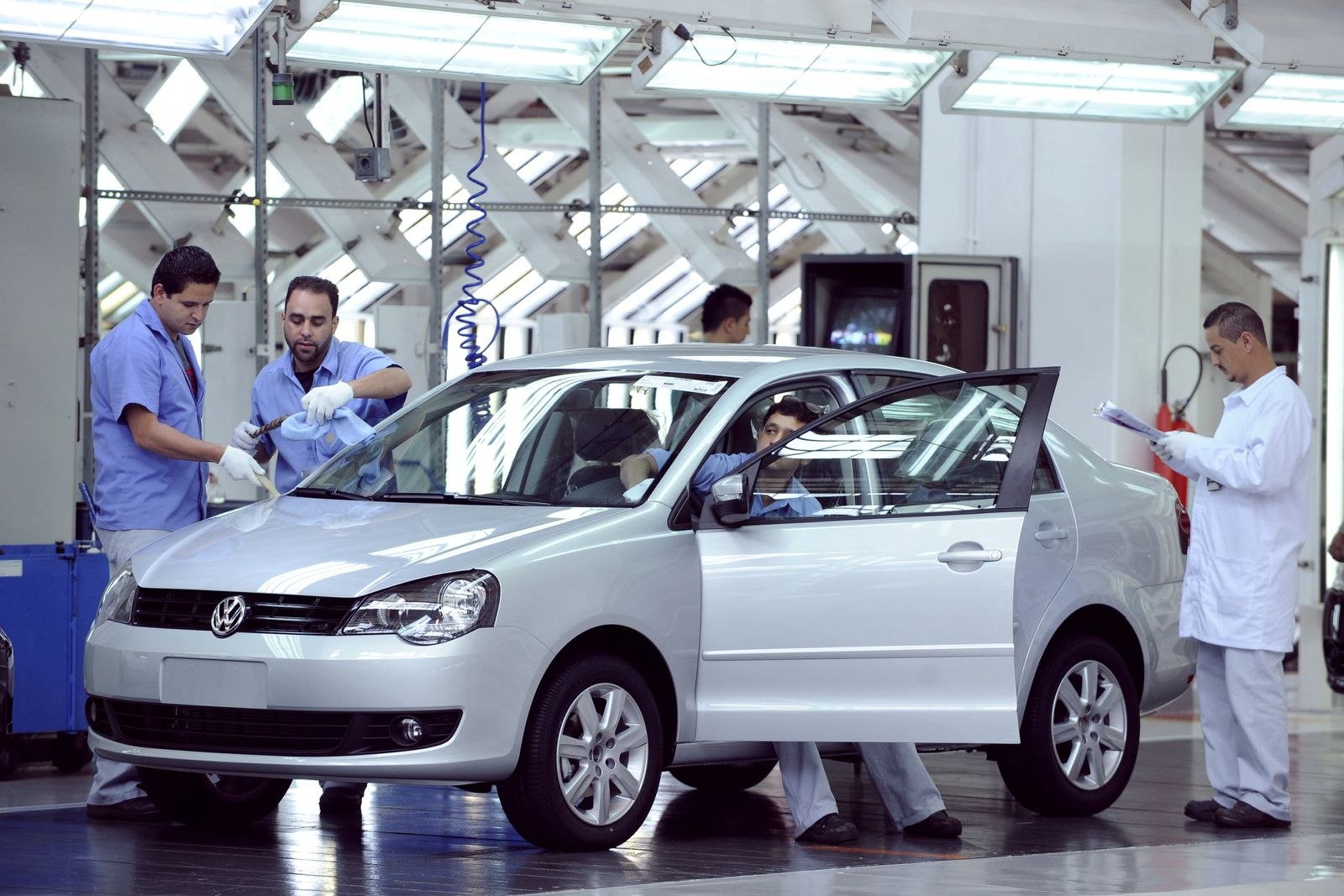 NICHT VERWENDEN Inovationspreis / VW-Werk Brasilien